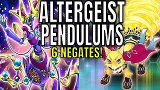 YUGIOH! ALTERGEIST PENDULUMS!!! 6 INTERRUPTIONS!!! COMBO TUTORIAL/DECK PROFILE!!!
