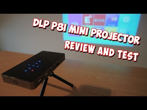 DLP P8i Mini Projector - Review and Test