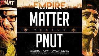 KOTD - Pnut vs Matter | #EMP