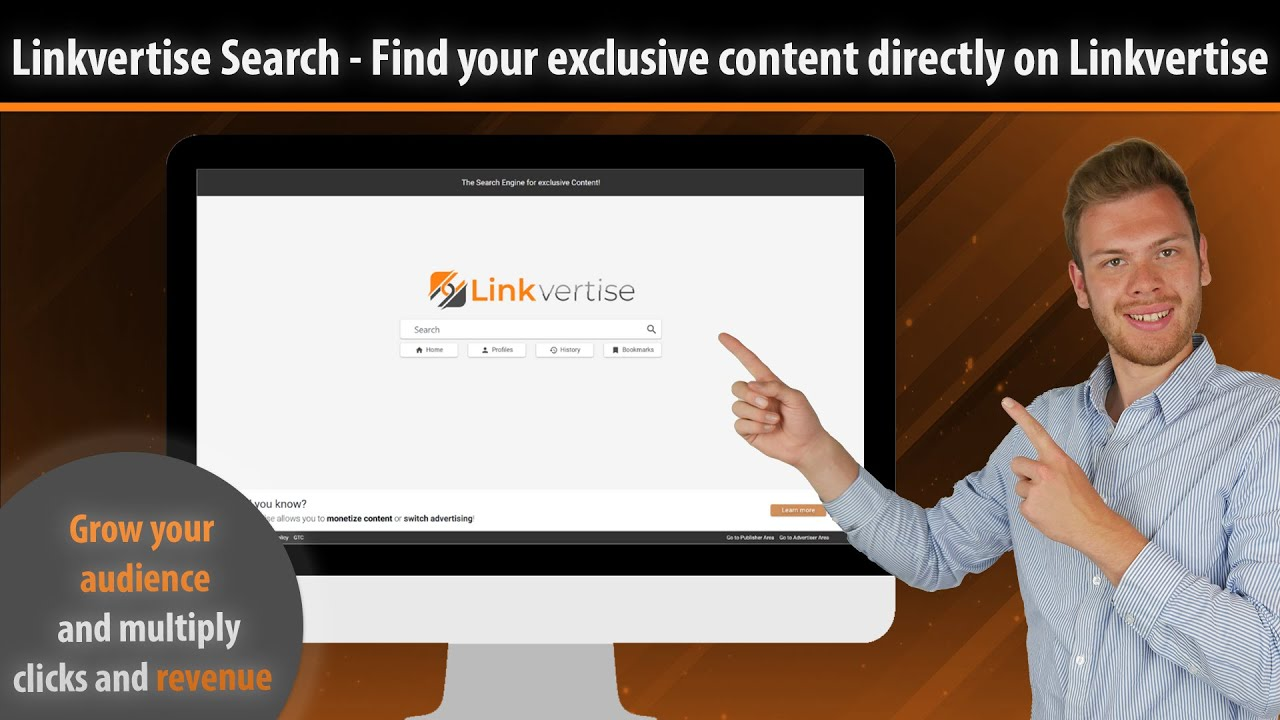 [Linkvertise Search] Finally free for everybody! | English