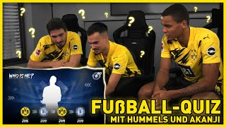 Who is this? | Quiz with Hummels, Akanji & Erné | BVB x eFootball