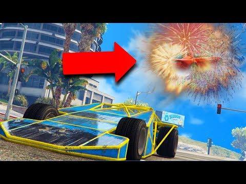 TURNING PEOPLE'S CARS INTO FIREWORKS! | GTA 5 THUG LIFE #178