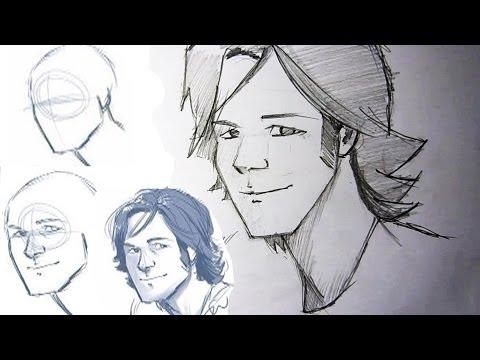 видео: Как рисовать с обучалок.
