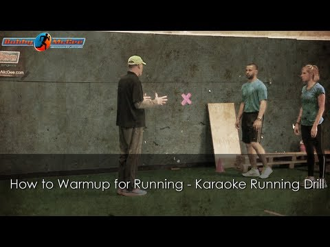How to Warmup for Running - Carioca Running Drill