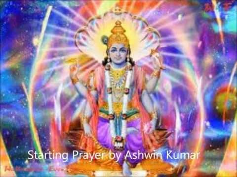 Shuklam Baradharam Vishnum and Karaagre Vasate Lakshmi By Ashwin Kumar (Early Morning Prayer)