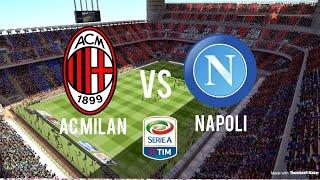 FIFA 18 predictions- AC Milan vs Napoli- Serie A- 15/4/18