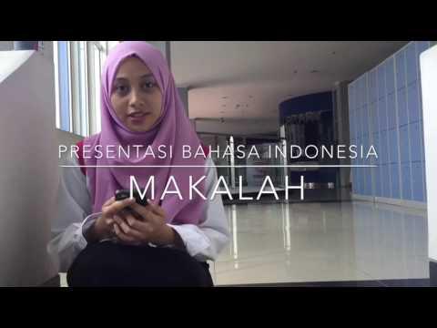 Tugas Makalah Bahasa Indonesia