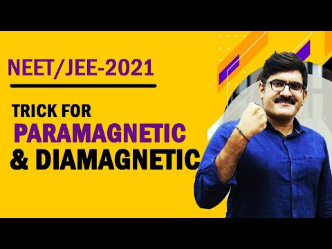 Trick For Paramagnetic and Diamagnetic |...