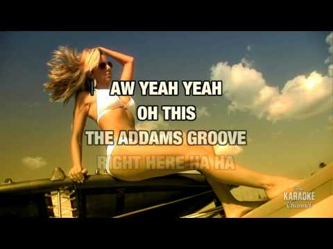 Addams Groove in the style of M.C. Hammer...