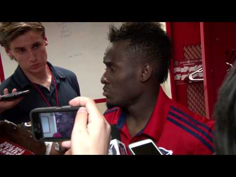 David Accam -- FC Dallas Postmatch Reaction