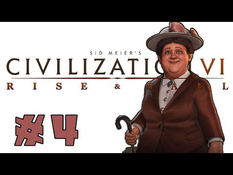 Civilization VI: Rise and Fall! -- Wilhelmina of the Netherlands! -- Part 4