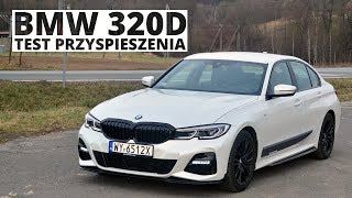 BMW 320d 2.0 190 KM (AT) - acceleration 0-100 km/h