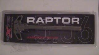 axts raptor nickel boron ambidextrous charging handle 556mm review