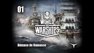 01.¡Crucero Dresden en servicio! (World of Warships) // Gameplay