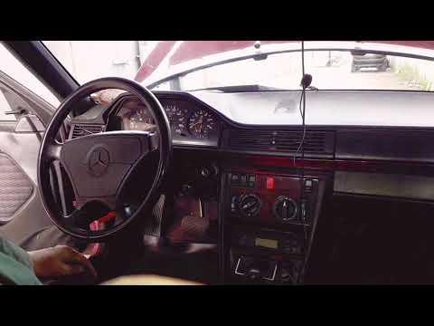 Mercedes-Benz W124 300D замена контактной группы на замке зажигания