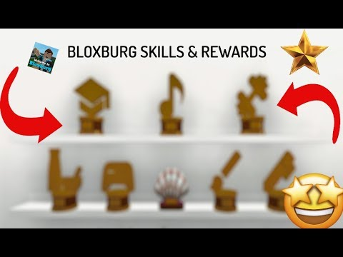 Roblox Bloxburg How To Get The Skills Trophy O Youtube How To Get Skills Rewards Bloxburg Youtube