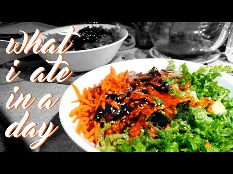 WHAT I ATE IN A DAY (VEGAN)
