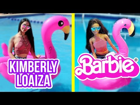 BARBIE imita el instagram de KIMBERLY LOAIZA - Lola Land 💜