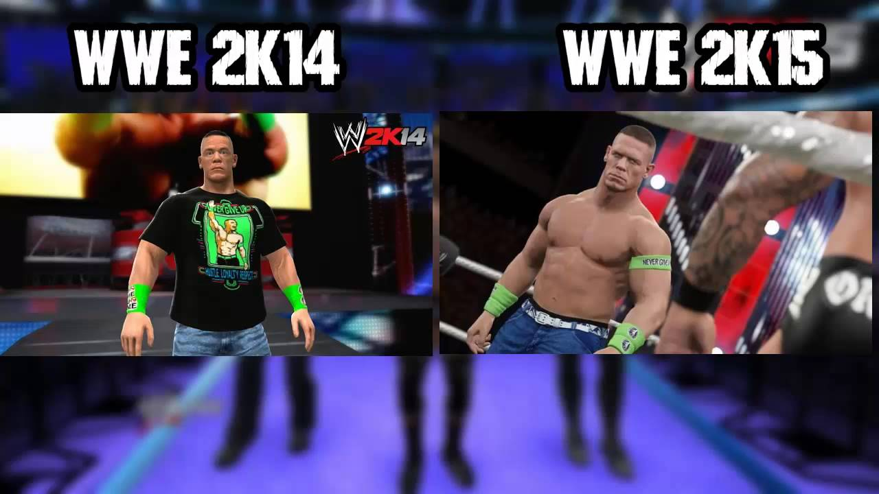wwe 2k15 screenshots john cena | olivero