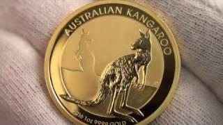 Кенгуру 2016 золотая монета Австралии