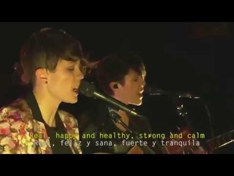Tegan and Sara - Where Does The Good Go Live (Subtitulado Inglés - Español)