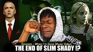 Eminem - When Im Gone (Music Video) REACTION!!!!