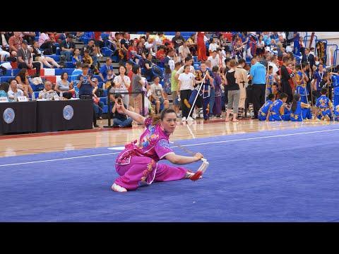 [2019] Stephanie Lim - 1st - 9.43 - Jianshu - US Wushu Team Trials