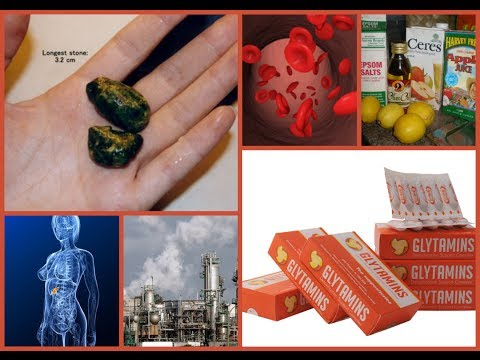 Liver Gallbladder Cleanse - Dissolve & Remove Gallstones without Gallbladder Surgery by Glytamins
