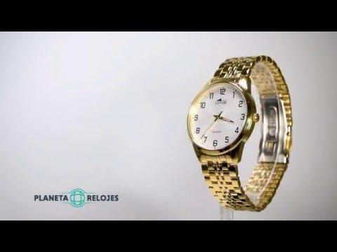 743b3d28d3ab Reloj Lotus 15885-1 - YouTube