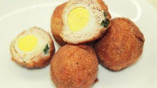 Яйца по-шотландски / Scottish Eggs Recipe(, 2017-01-27T13:46:08.000Z)