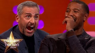 Michael B. Jordan Loses It At Steve Carell's Dolls | The Graham Norton Show