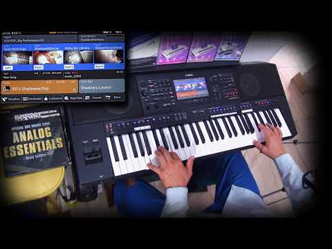 "Psr-SX900 Playing ""Theme For Young Lovers"" – The Shadows - Cover"