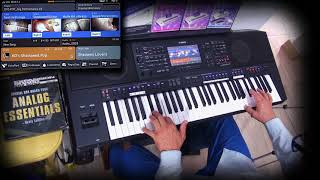 """Psr-SX900 playing Theme for Young Lovers"""" – The Shadows - Cover"""