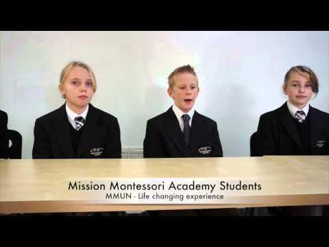 Mission Montessori Academy MMUN China 2014