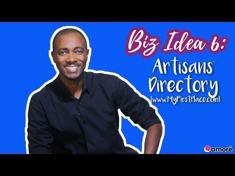 Business Idea 6 - Online Artisan's Directory