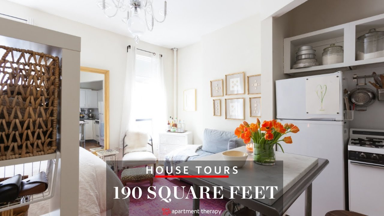 190 Square Feet in the East Village | House Tours ...