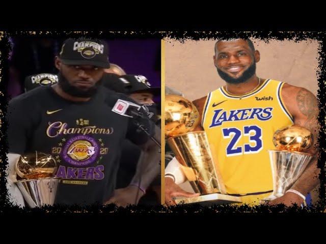 LeBron James, Anthony Davis Lakers won the 2020 NBA championship