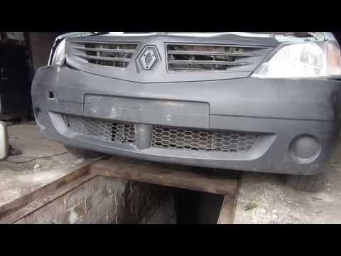 Как снять передний бампер на Рено Логан (Renault Logan) и Лада Ларгус