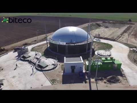 Latest technology biogas plant