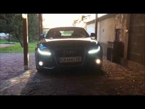 How To Change The Fog Lights Of Audi A5 Coupe Sportback And A4 B8