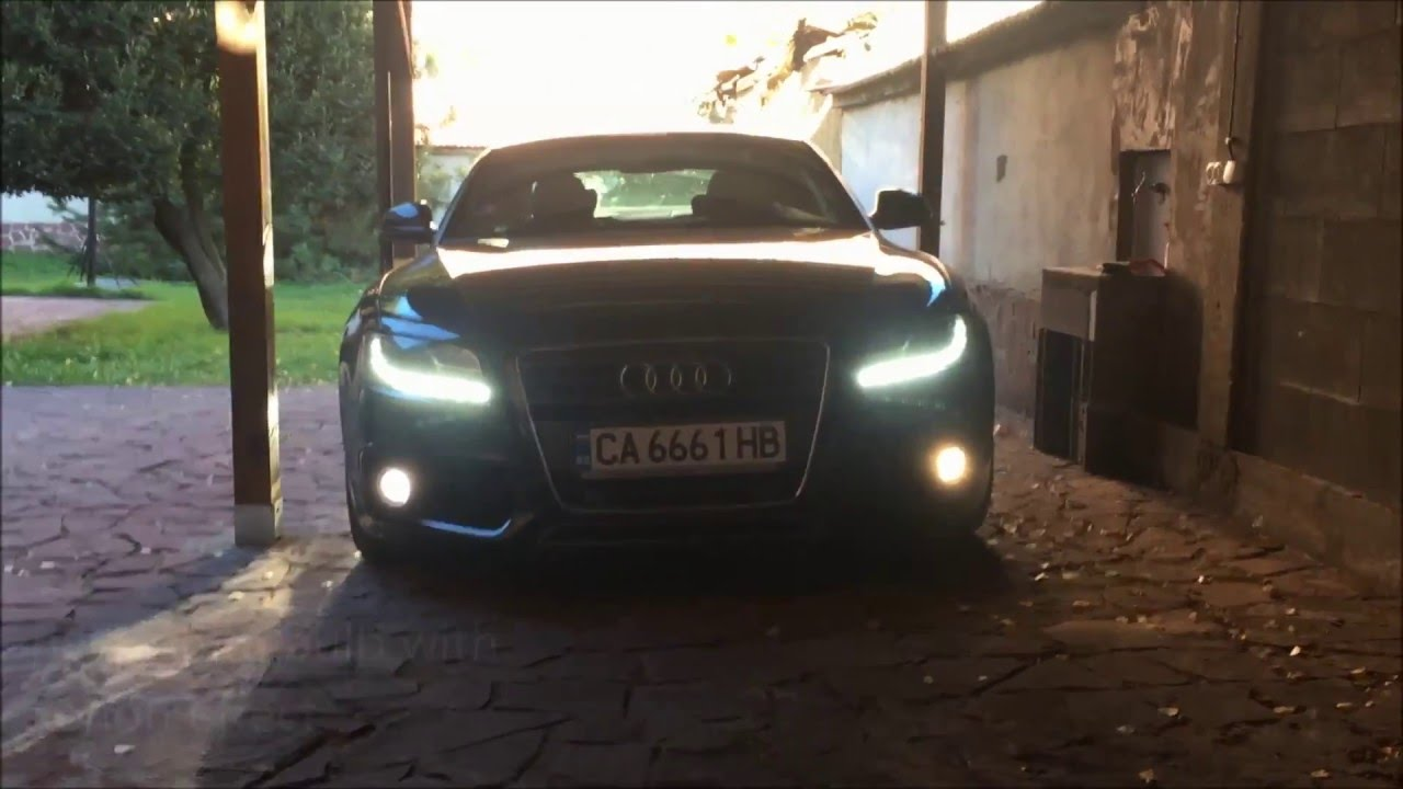 How to change the fog lights of Audi A5 Coupe / Sportback ...