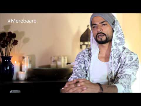 Rap's been picked up by a lat of..BOHEMIA - Set of Mere Baare (BTS) rare interview