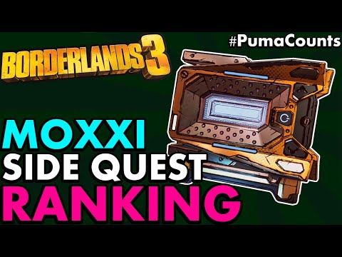 Ranking All New MOXXI DLC SIDE MISSION Guns & Weapons (Borderlands 3 DLC 1 Side Quests) #PumaCounts