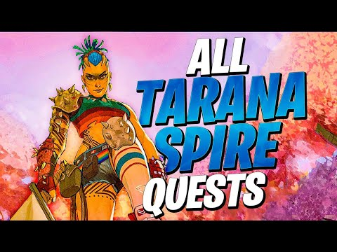 How To Do ALL Tarana's SPIRE QUEST Challenges! (The Spire Quests – Tarana)