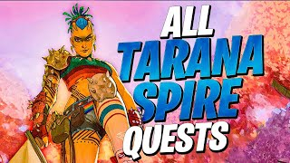 How To Do ALL Tarana's SPIRE QUEST Challenges! (The Spire Quests - Tarana)