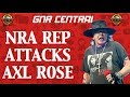 Guns N' Roses News: NRA Spokeswoman Attacks Axl Rose