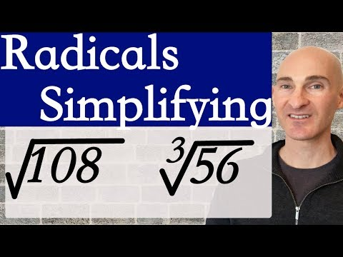 Radicals How To Simplify Square Roots (& Cube Roots)