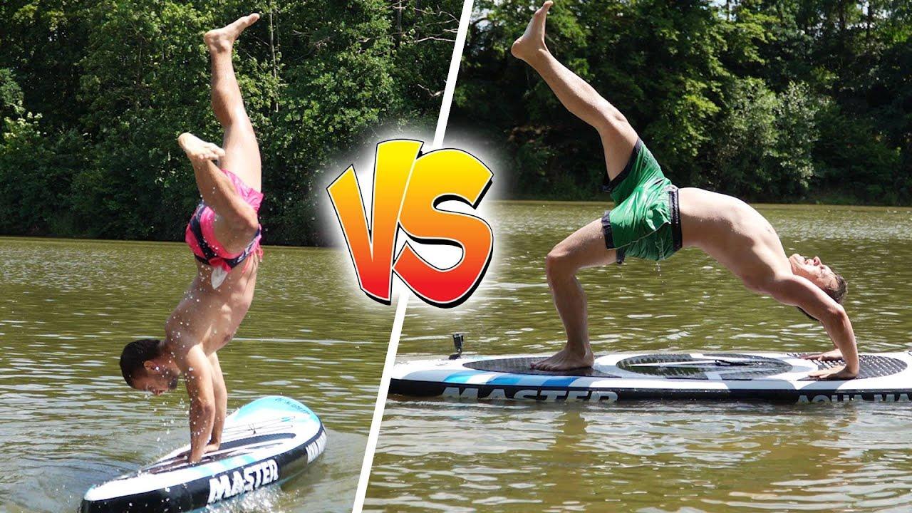 Parkour Challenge na Paddleboardu! | Tary vs. Jura