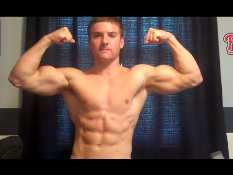 17 Year Old Bodybuilder 16 Inch Arms Hd