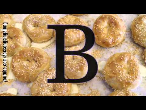 Appetitizing Alphabet song: learn ABC & get appetitized by pastry of lunch time bakery buffet!